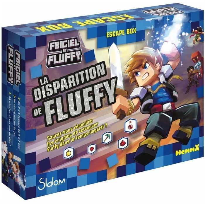 Jeu de societe escape box frigiel et fluffy