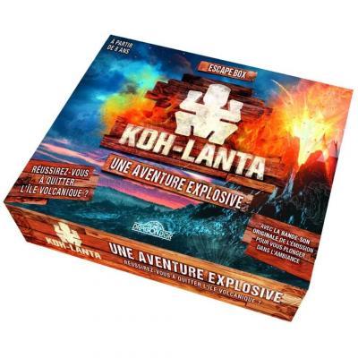 Jeu de société Escape Game Box: Koh-Lanta, une aventure explosive (x1) REF/404ED1331
