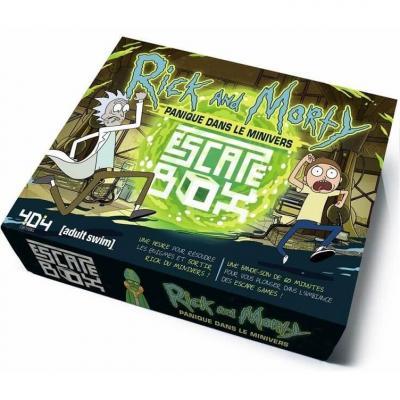 Jeu de société Escape Game Box: Rick et Morty (x1) REF/404ED0295