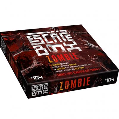 Jeu de société Escape Box: Zombie REF/404ED0147