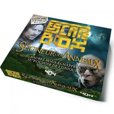 Jeu de société Escape Box: Le Seigneur des Anneaux REF/404ED0392