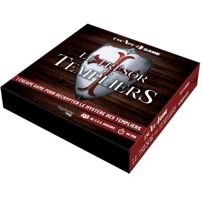 Jeu de société Escape Game: Le trésors des Templiers REF/HH9428