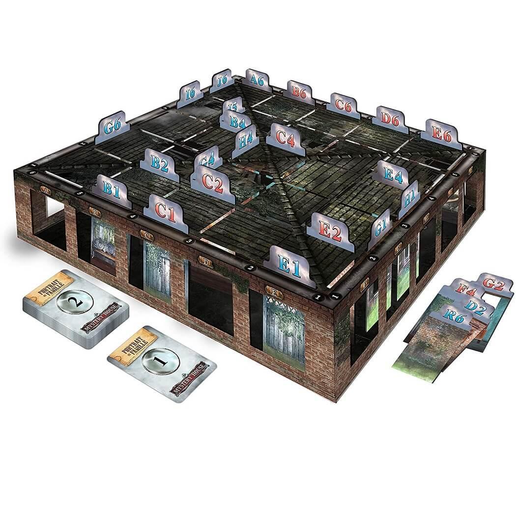 Jeu de societe escape game mystery house
