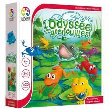 Jeu de société d'ambiance familial: L'odyssée des grenouille (x1) REF/SGM 501 FR