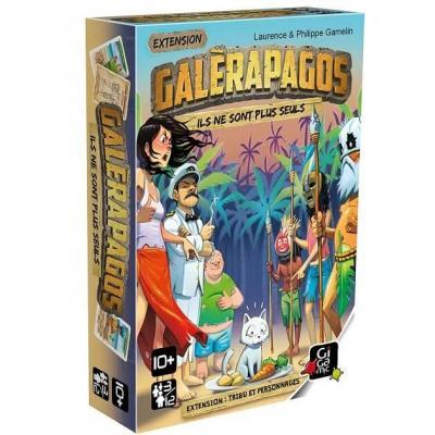 Jeu de société Galèrapagos avec extension tribus et personnages (x1) REF/GEGA