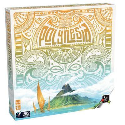 Jeu de société avec stratégie: Polynesia (x1) REF/LUPO