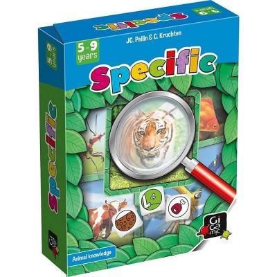 Jeu pédagogique pour enfants Specific (x1) REF/GJSP
