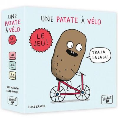 Jeu de société pour enfants: Une patate à vélo (x1) REF/JPAT