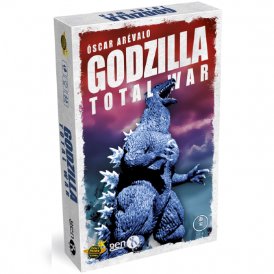 Jeu de société Godzilla total war (x1) REF/GAME1071