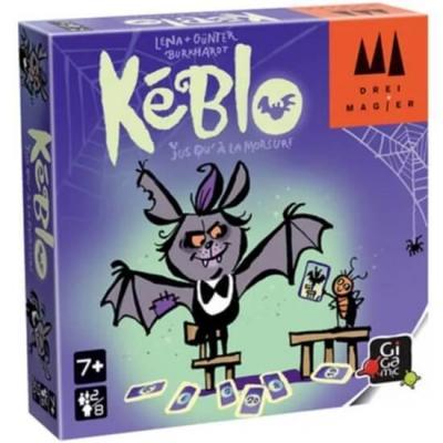 Jeu de société Halloween avec cartes: Kéblo (x1) REF/DRKEB