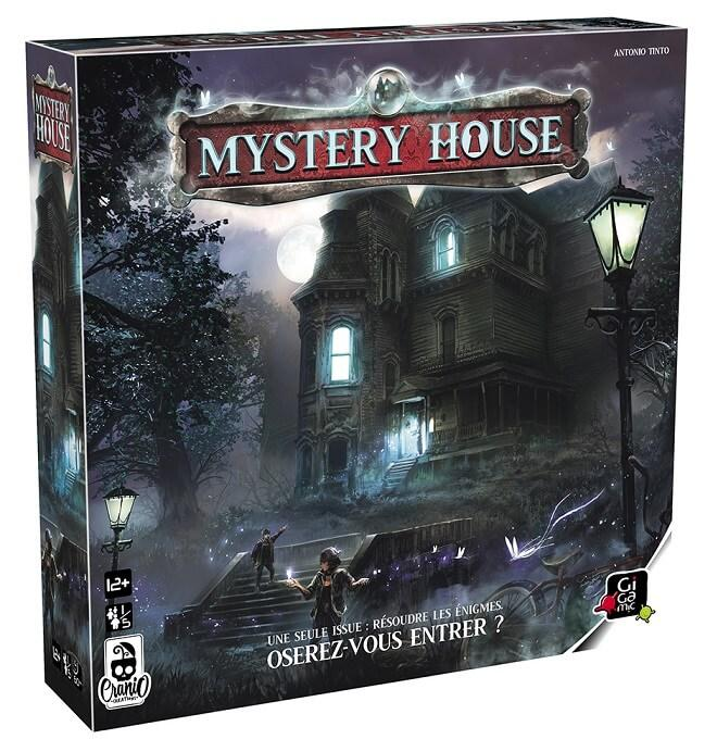 Jeu de societe halloween mystery house