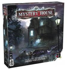Jeu de société Halloween Mystery house (x1) REF/JCMY