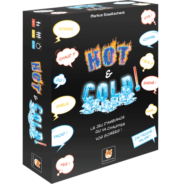 Jeu de societe hot and cold