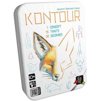 Jeu de société Kontour avec cartes (x1) REF/GMKO