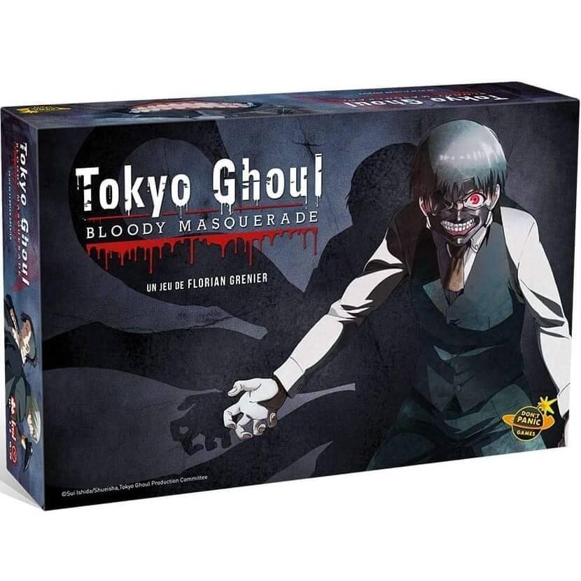 Jeu de societe manga tokyo ghoul bloody masquerade