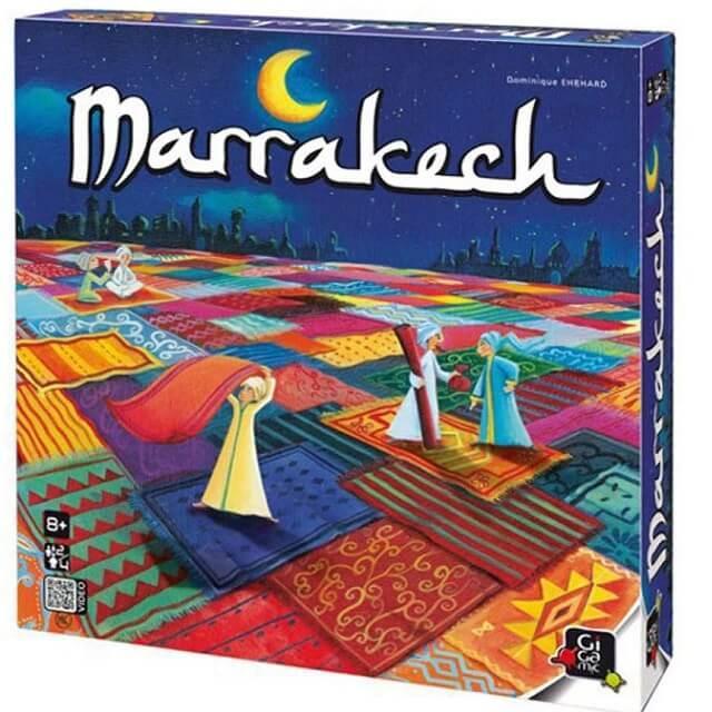 Jeu de societe marrakech