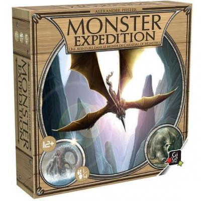 Jeu de société Halloween: Monster expédition (x1) REF/AMZME