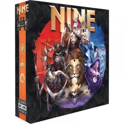 Jeu de société avec stratégie: Nine (x1) REF/SWNIN