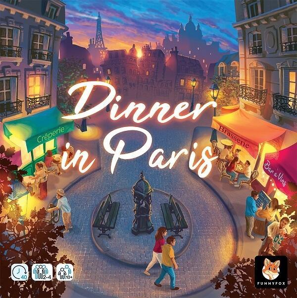 Jeu de societe original de strategie dinner in paris