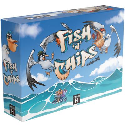 Jeu de société original: Fish N Chips (x1) REF/STFIS