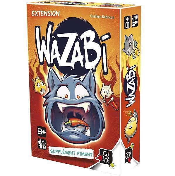 Jeu de societe piment wazabi