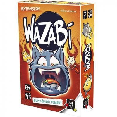 Jeu de cartes Wazabi édition supplément Piment (x1) REF/GEWA