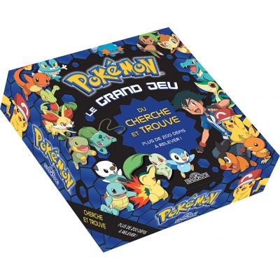 Jeu de société Pokémon, le grand jeu du cherche et trouve REF/404ED0675