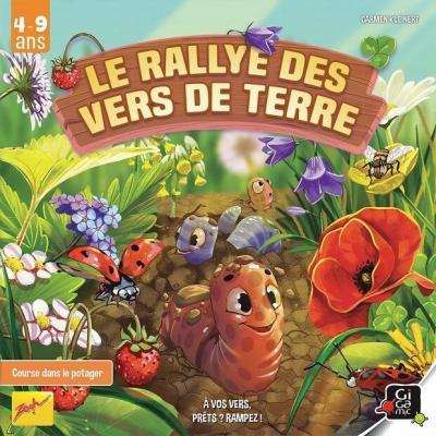 Jeu de société pour enfants: Le rallye des vers de terre (x1) REF/ZOVER