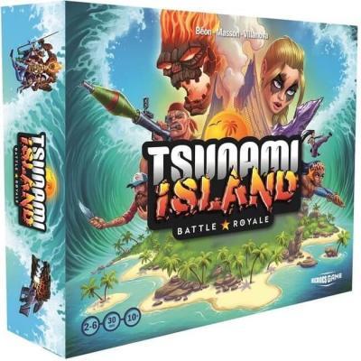 Jeu de société avec plateau style Battle Royal: Tsunami Island REF/HG0900