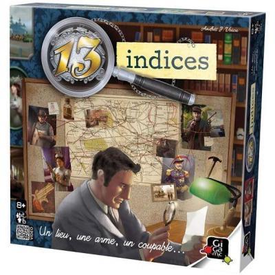 Jeu de stratégie 13 indices (x1) REF/JGTI