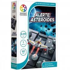 Jeu éducatif compact de réflexion pour enfants: Alerte ! Astéroïdes (x1) REF/SG 426 FR