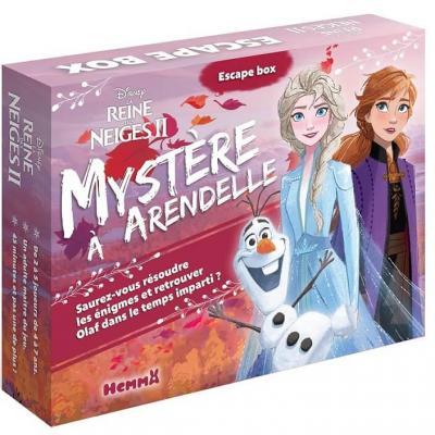 Jeu de société Escape Box la reine des neiges 2: Mystère à Arendelle REF/404ED4658