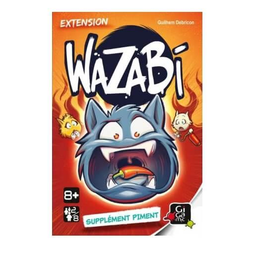 Jeu gigamic wazabi edition extention piment