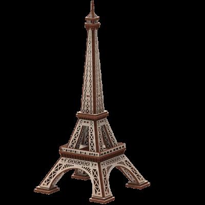 Jeu puzzle 3D en bois Mr Playwood: Tour Eiffel (x1) REF/PWEI