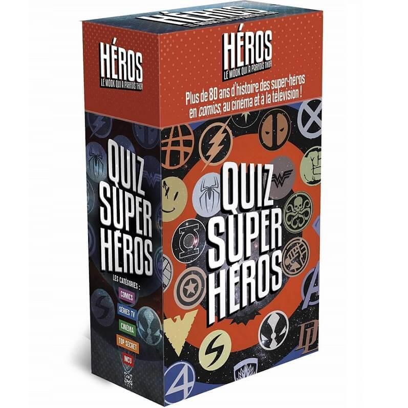 Jeu quizz super heros marvel dc universe disney