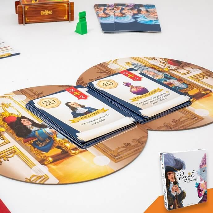 Jeux de cartes royal secrets