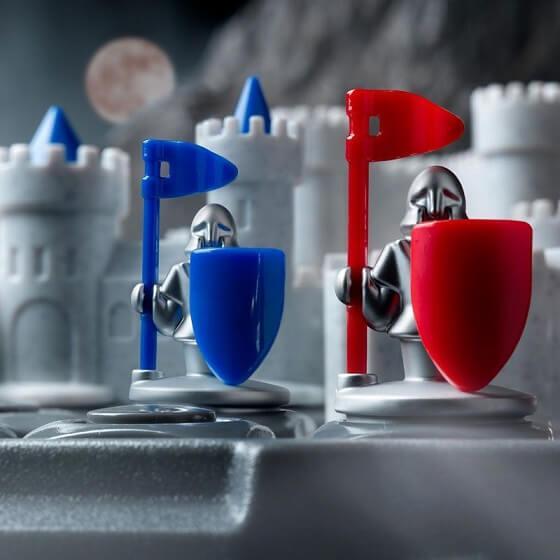 Jeux de educatif reflexion pour enfants forteresse