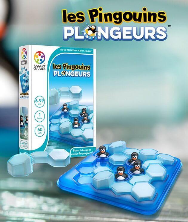 Jeux de reflexion pour enfant les pingouins plongeurs