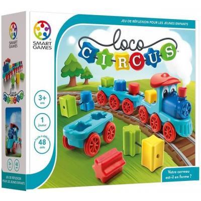 Jeu éducatif pour enfants: Loco Circus (x1) REF/SG 040 FR