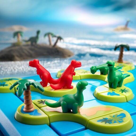Jeux de reflexion pour enfants l archipel des dinosaures