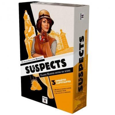 Jeu de société avec réflexion: Suspects (x1) REF/STSUS