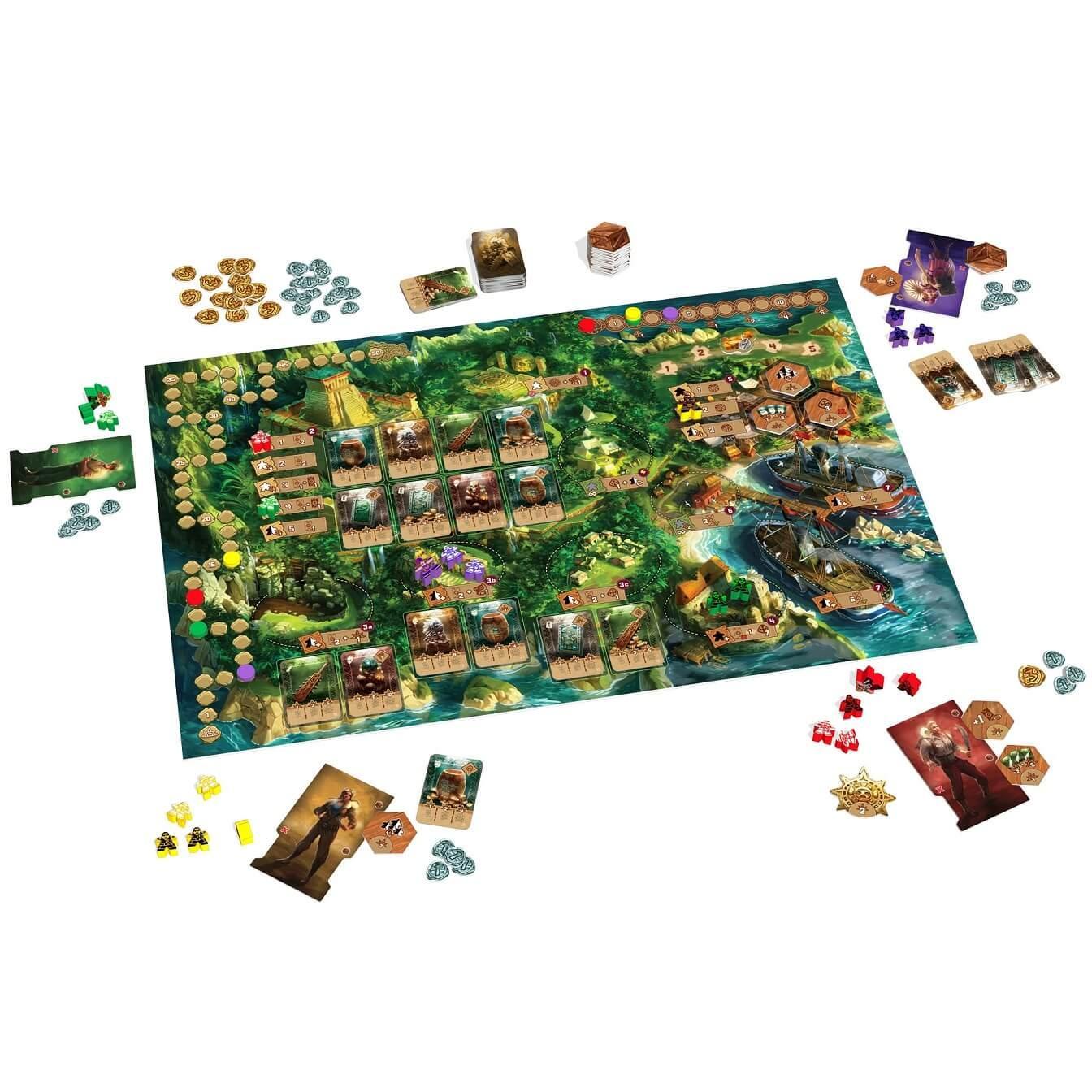 Jeux de societe avec strategie quetzal