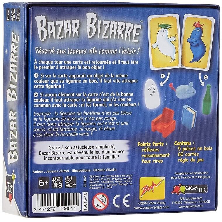 Jeux de societe bazar bizarre
