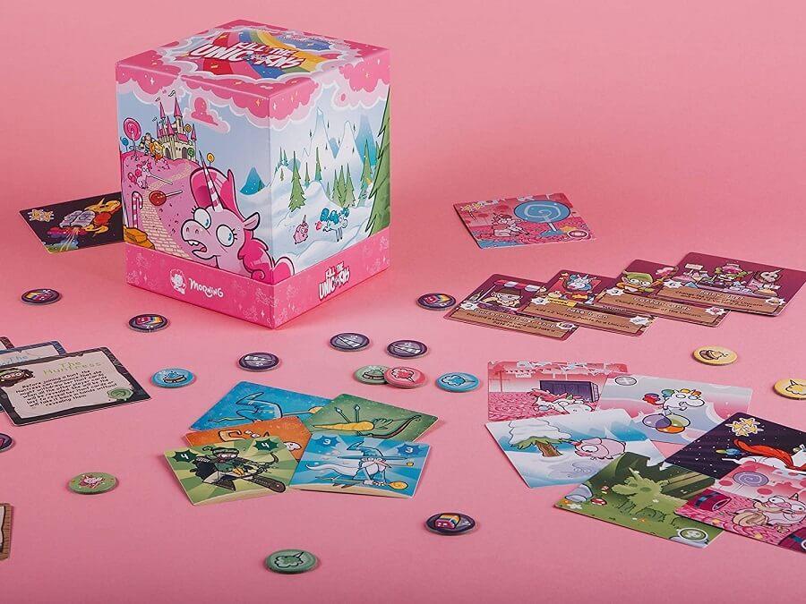 Jeux de societe bluff et strategie kill the unicorns licorne
