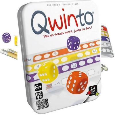 Jeu de société d'ambiance et de réflexion Qwinto (x1) REF/JNQW