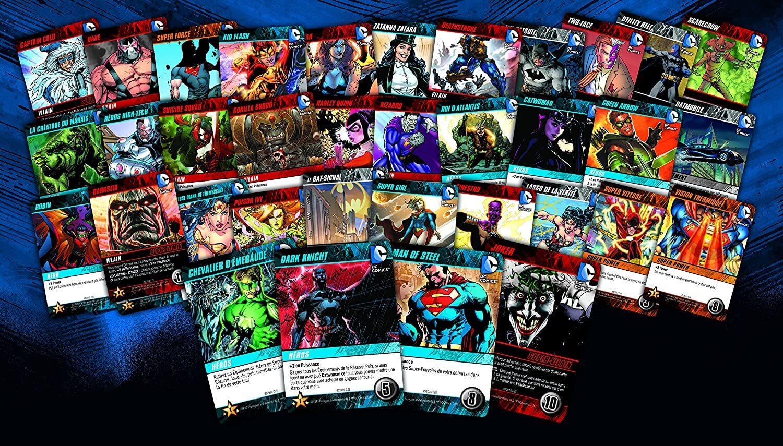 Jeux de societe dc comics deck building game jeu de base