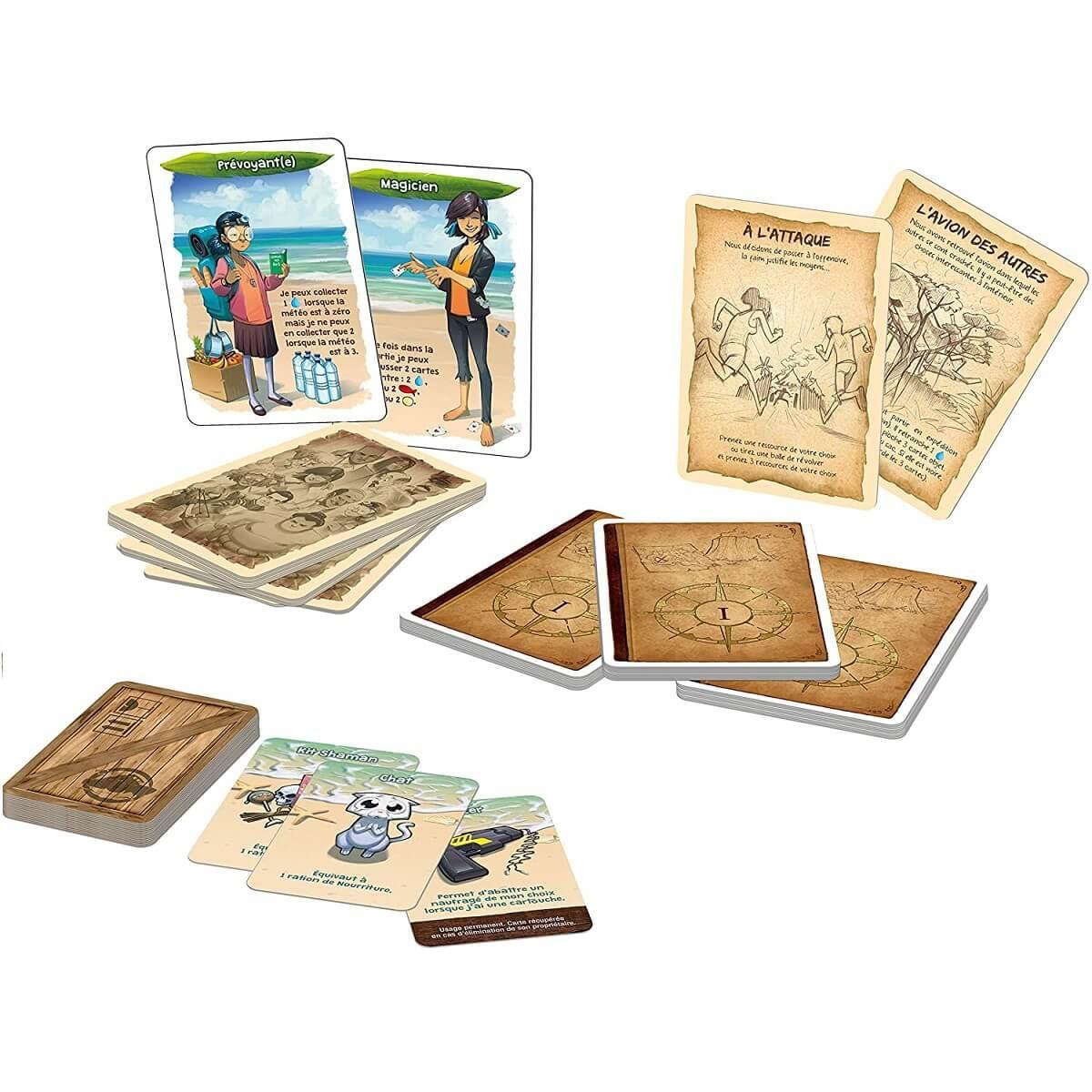 Jeux de societe galerapagos extension tribus et personnages