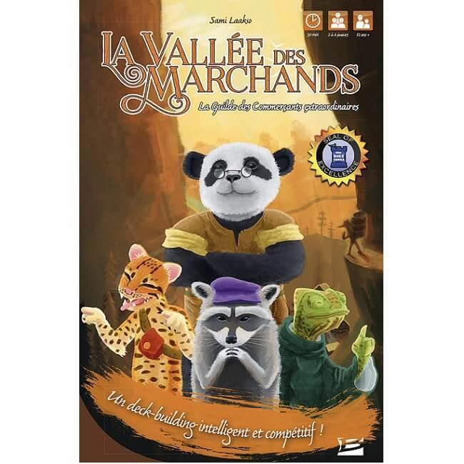 Jeux de societe la vallee des marchands la guilde