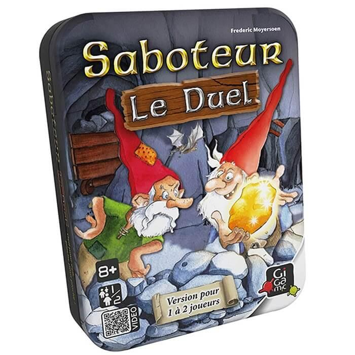 Jeux de societe le saboteur duel