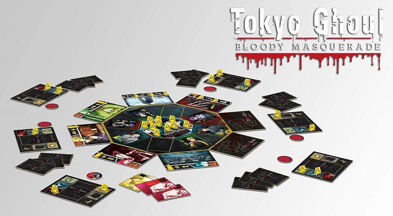 Jeux de societe manga tokyo ghoul bloody masquerade